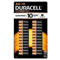 Duracell AA Alkaline Batteries, 48 Ct