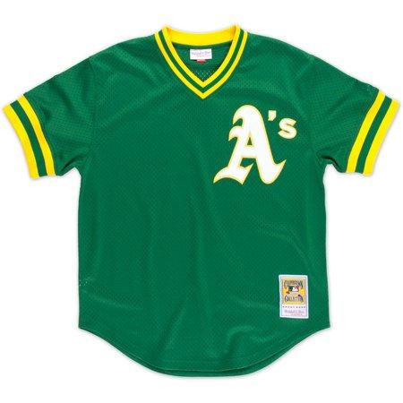 Reggie Jackson Oakland Athletics Mitchell & Ness Authentic 1987 BP Jersey by