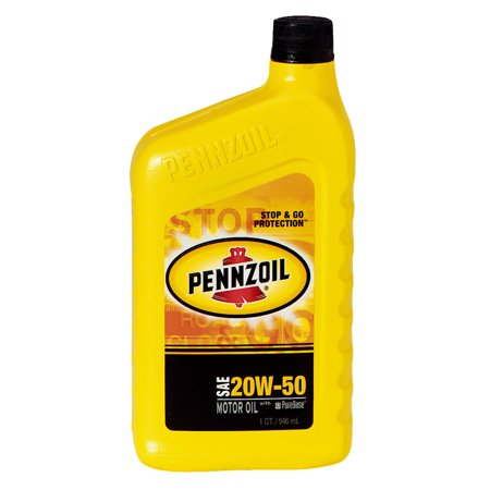 Pennzoil 20W 50  Motor Oil  1 Qt