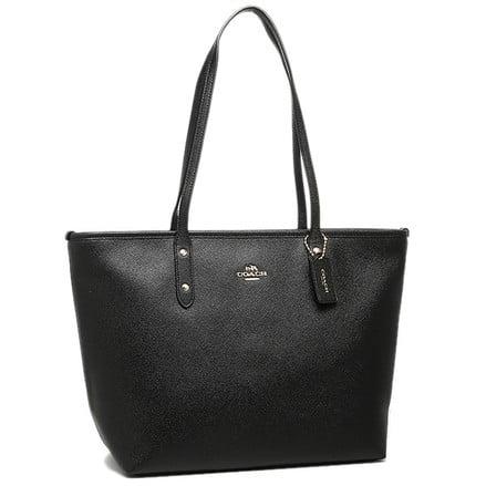 coach city zip crossgrain leather tote bag Zip Leather Satchel