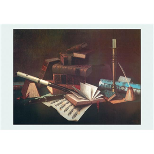 Buy Enlarge 0-587-16357-7P12x18 Music and Literature- Paper Size P12x18