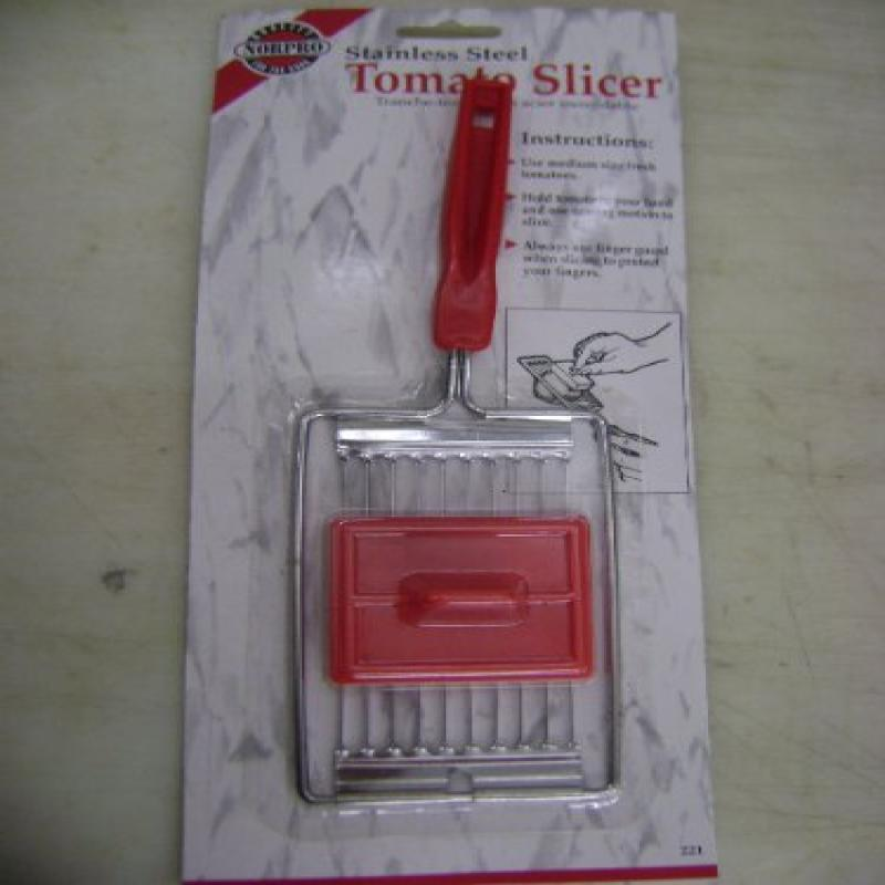 Norpro Stainless Steel Tomato Slicer