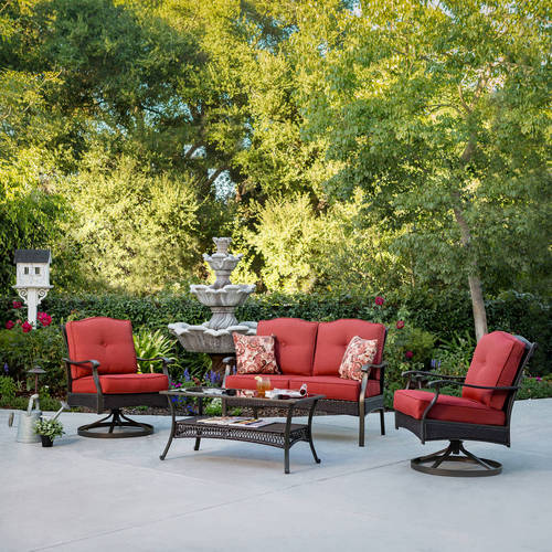 Better Homes & Gardens Providence 4-Piece Patio Conversation Set