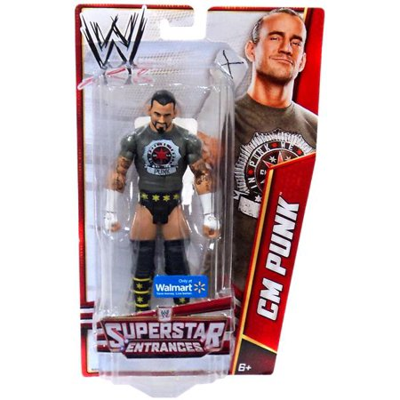 Wwe Cm Punk Figure With T-shirt ()