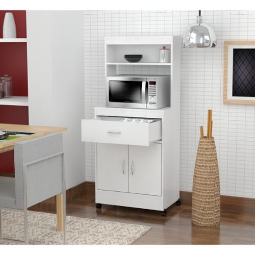 Inval America LLC Inval Microwave Cart with Storage - Walmart.com
