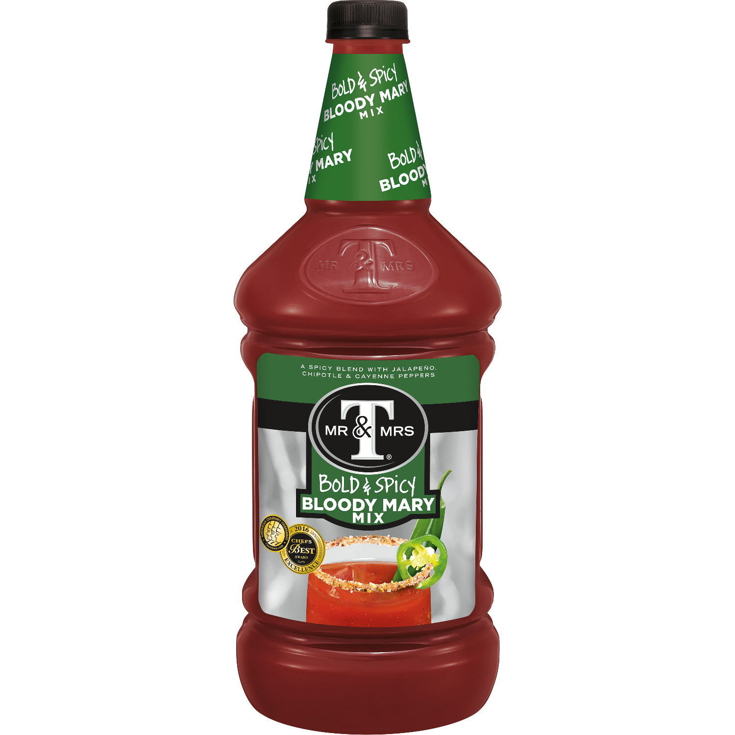 Mr & Mrs T Bold & Spicy Bloody Mary Mix, 1.75 L