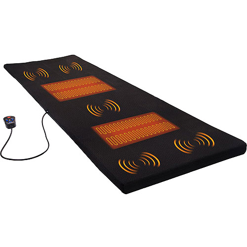 Relaxzen 5-Motor Massage Mat with Heat