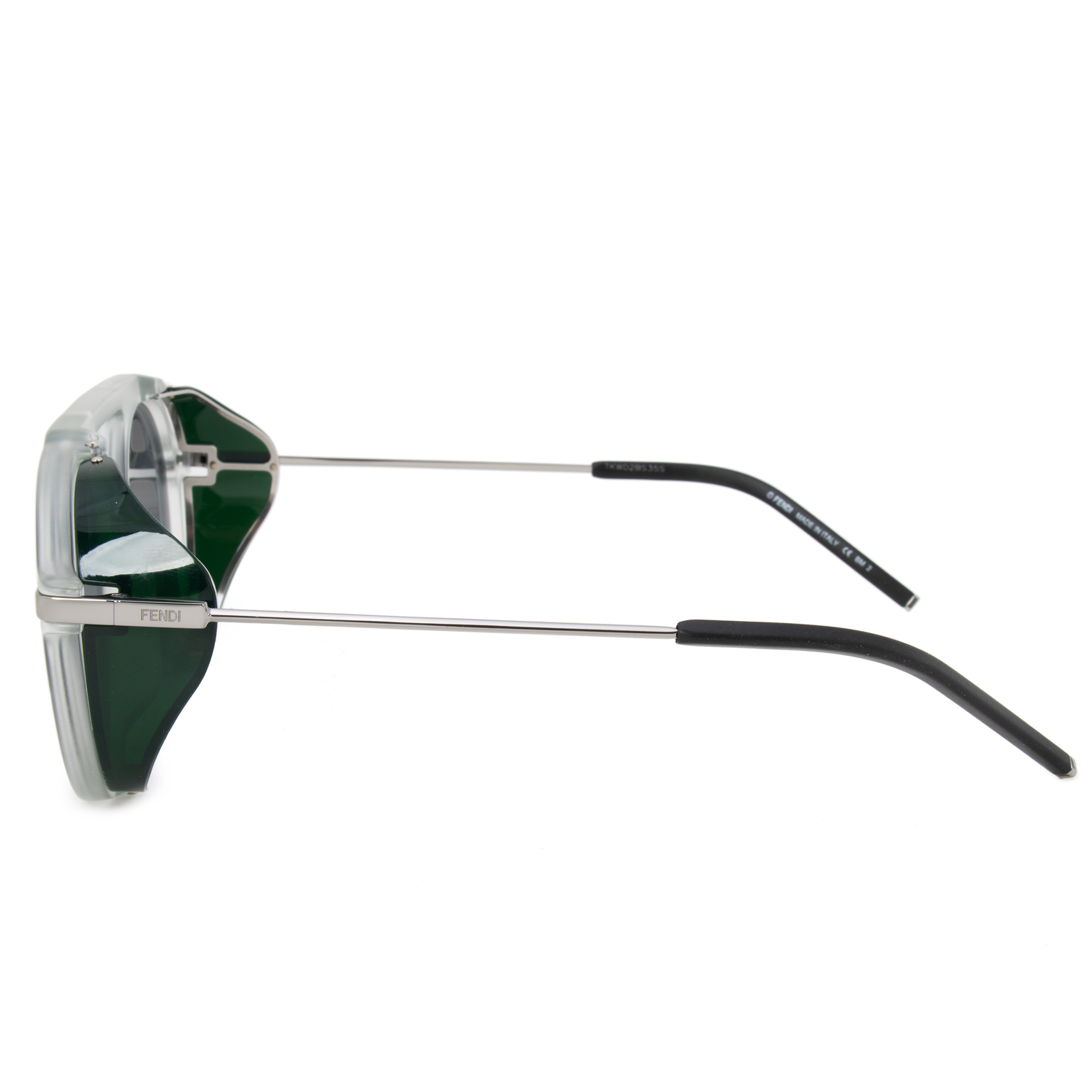 4669e337f387 Fendi - Fendi Fendi Fantastic FF M0012 900 IR Unisex Round Sunglasses -  Walmart.com