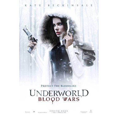 Underworld  Blood Wars  2016  27X40 Movie Poster