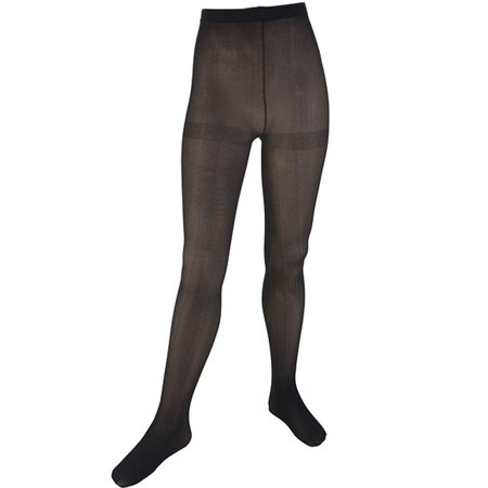Cookie's Brand Opaque Tights 2-Pack (Sizes 1 - 18) - Girls Black Opaque Tights