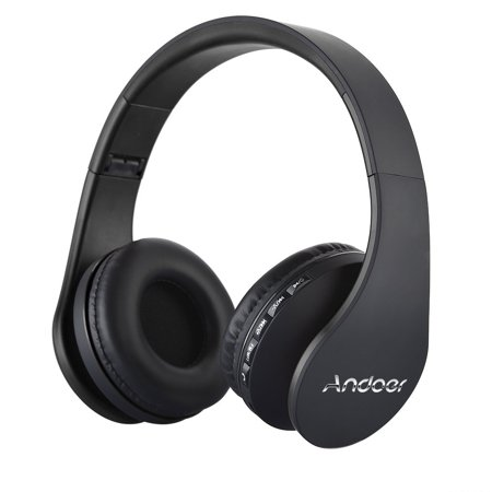Andoer LH-811 BT 4.1+EDR Headset 4 in 1 Multifunctional Deep Bass Music Headphone with