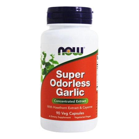 NOW Foods - Super Inodore Ail - 90 Capsules