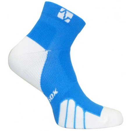 VT 1010T Tennis Color On Court Ped Drystat Compression Socks, Royal - Small - image 1 of 1