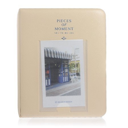Photo Album,Mini Instant Picture Photo Album Case Storage Film Size 64 Pockets For Polaroid  - image 3 de 3