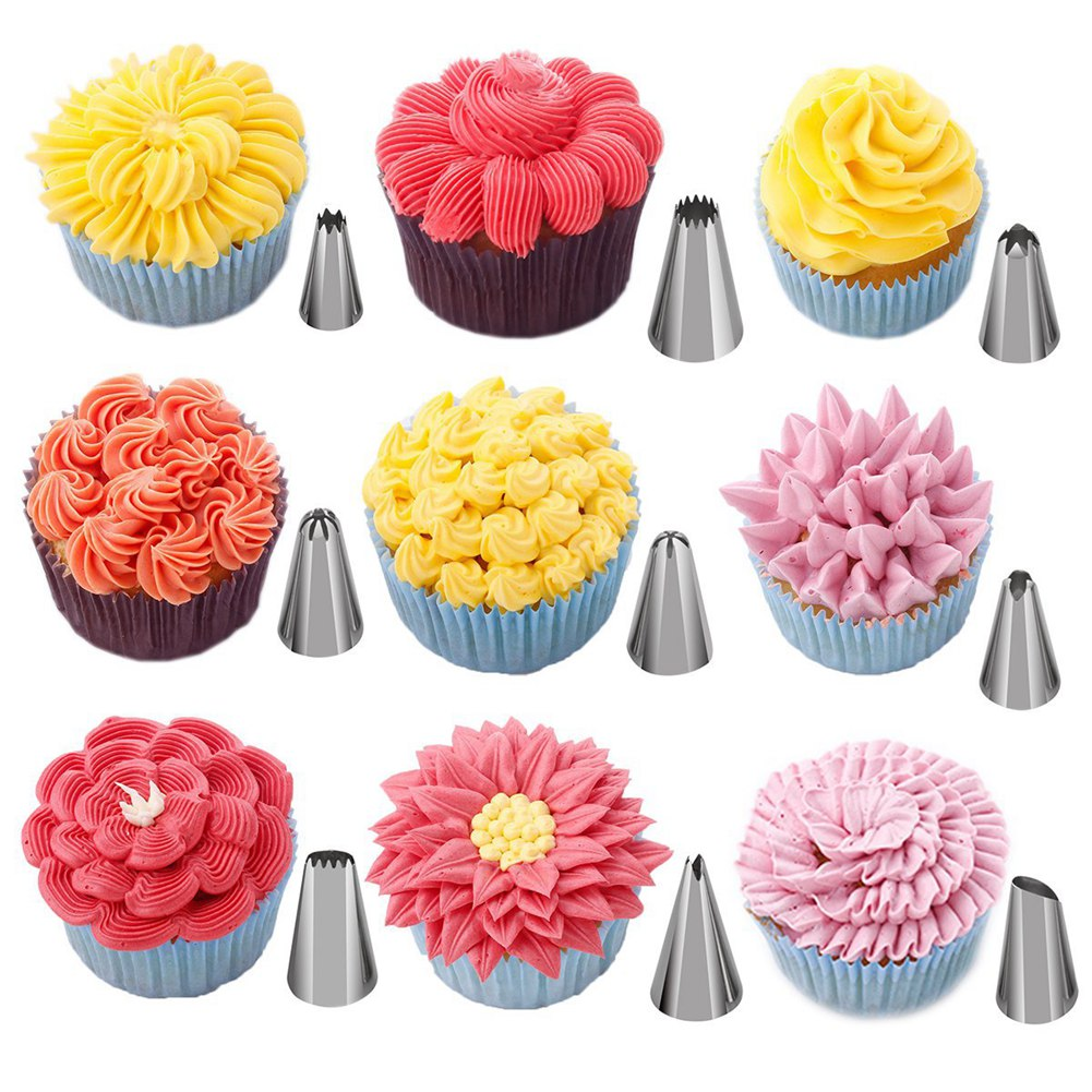 Cake Decorating Supplies Kit for Beginners Set of 137 Baking Pastry Tools
