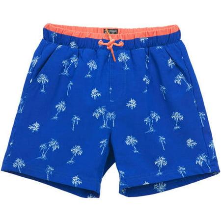 ce5f313aa2a6 No Retreat - Toddler Boys' Palm Trees Swim Trunks - Walmart.com