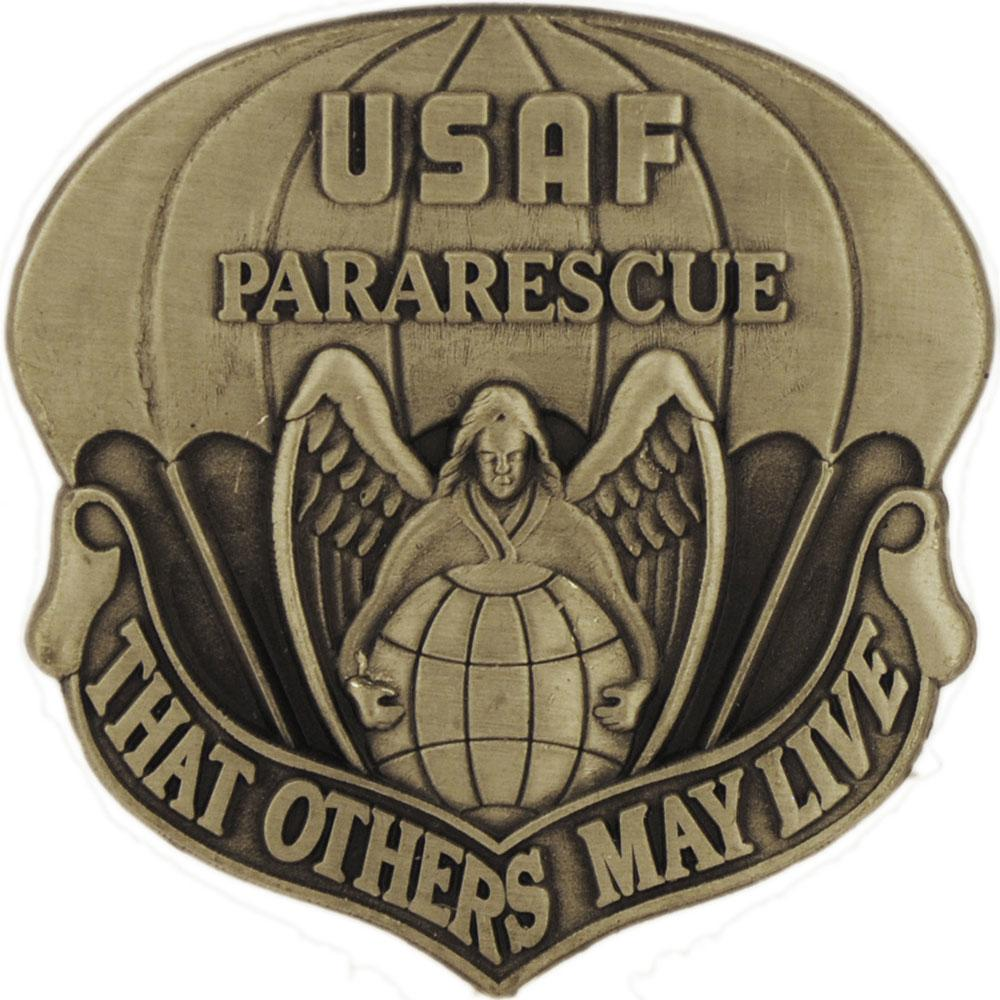 U.S. Air Force Pararescue Pin 1 1/2
