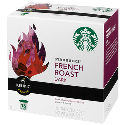 Starbucks K-Cup French Roast Coffee, 16ct