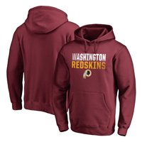 51bc8147a Product Image Washington Redskins NFL Pro Line by Fanatics Branded Iconic  Collection Fade Out Pullover Hoodie - Burgundy