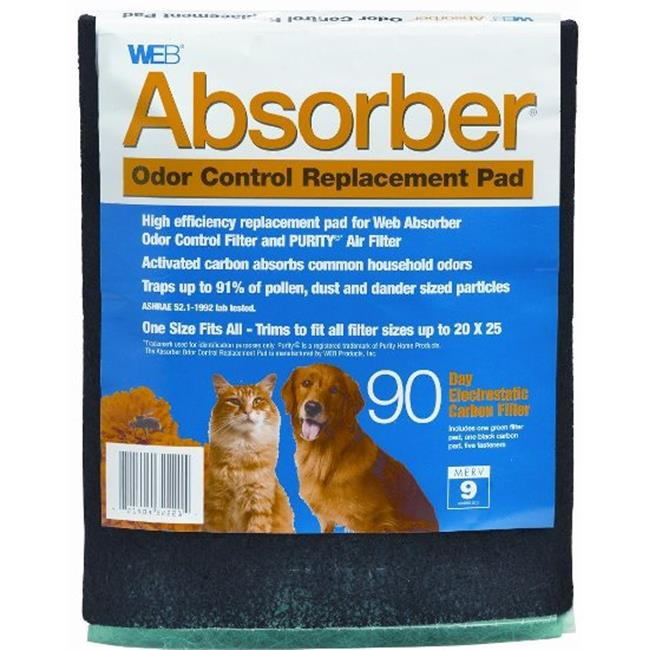 WEB KHBWABSORBPD WEB Absorber Odor Control Replacement Pad