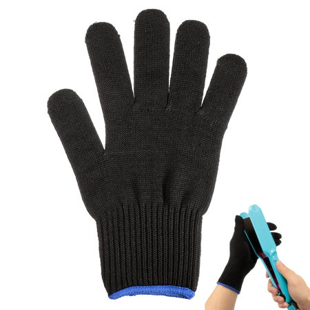 Professional Heat Resistant Glove Hair Styling Tool For Hair Curling / Straighter Flat Iron Anti-Burn