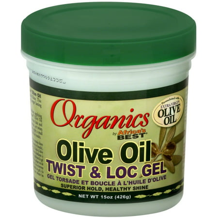 2 Pack - Africa Best Organics Olive Oil Twist & Lock Gel 15 oz