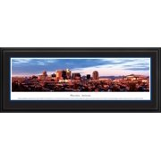 Phoenix, Arizona - Blakeway Panoramas Print with Deluxe Frame and Double Mat