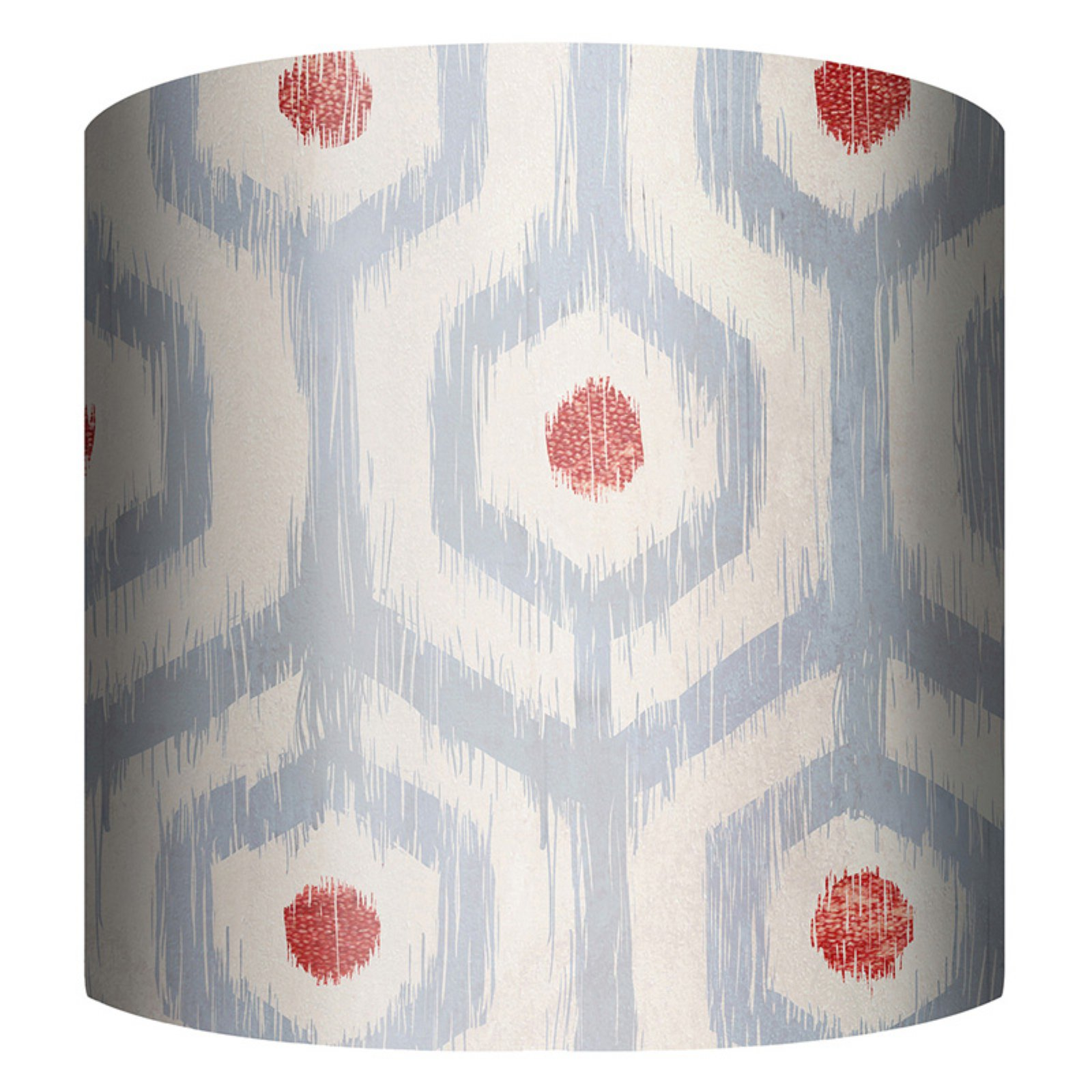 PTM Images Ikat Drum Lamp Shade