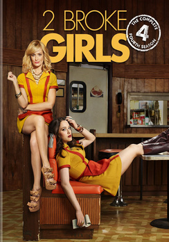 2 Broke Girls: The Complete Fourth Season (DVD) by WARNER HOME VIDEO