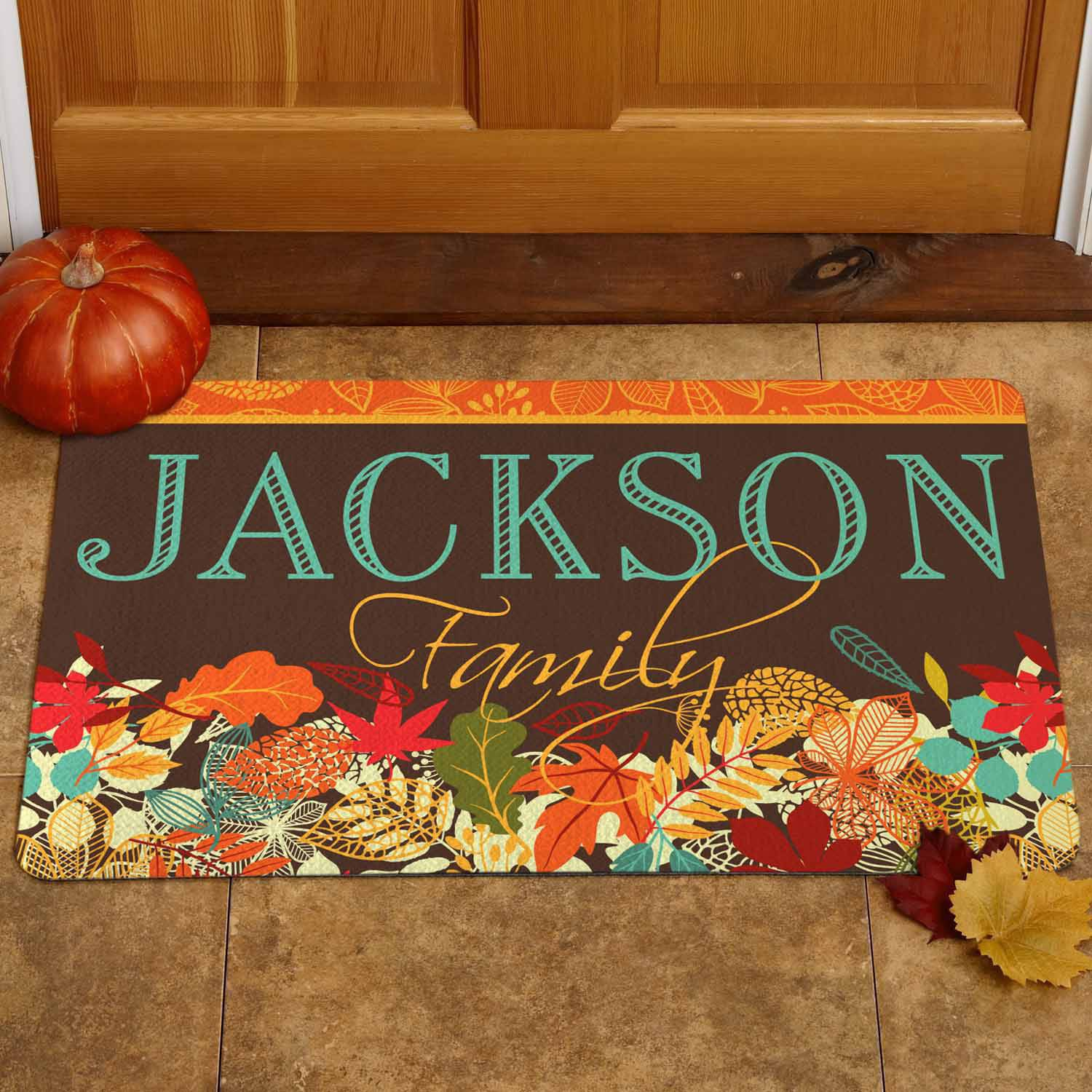 Personalized Fabulous Fall Doormat