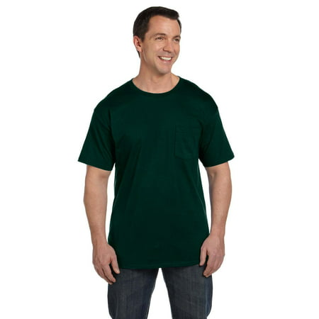 Hanes Adult 6.1 oz. Beefy-T with Pocket - 5190P