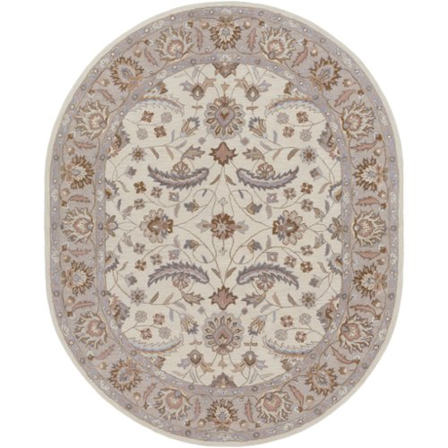 Surya Caesar Antique White Floral Area Rug