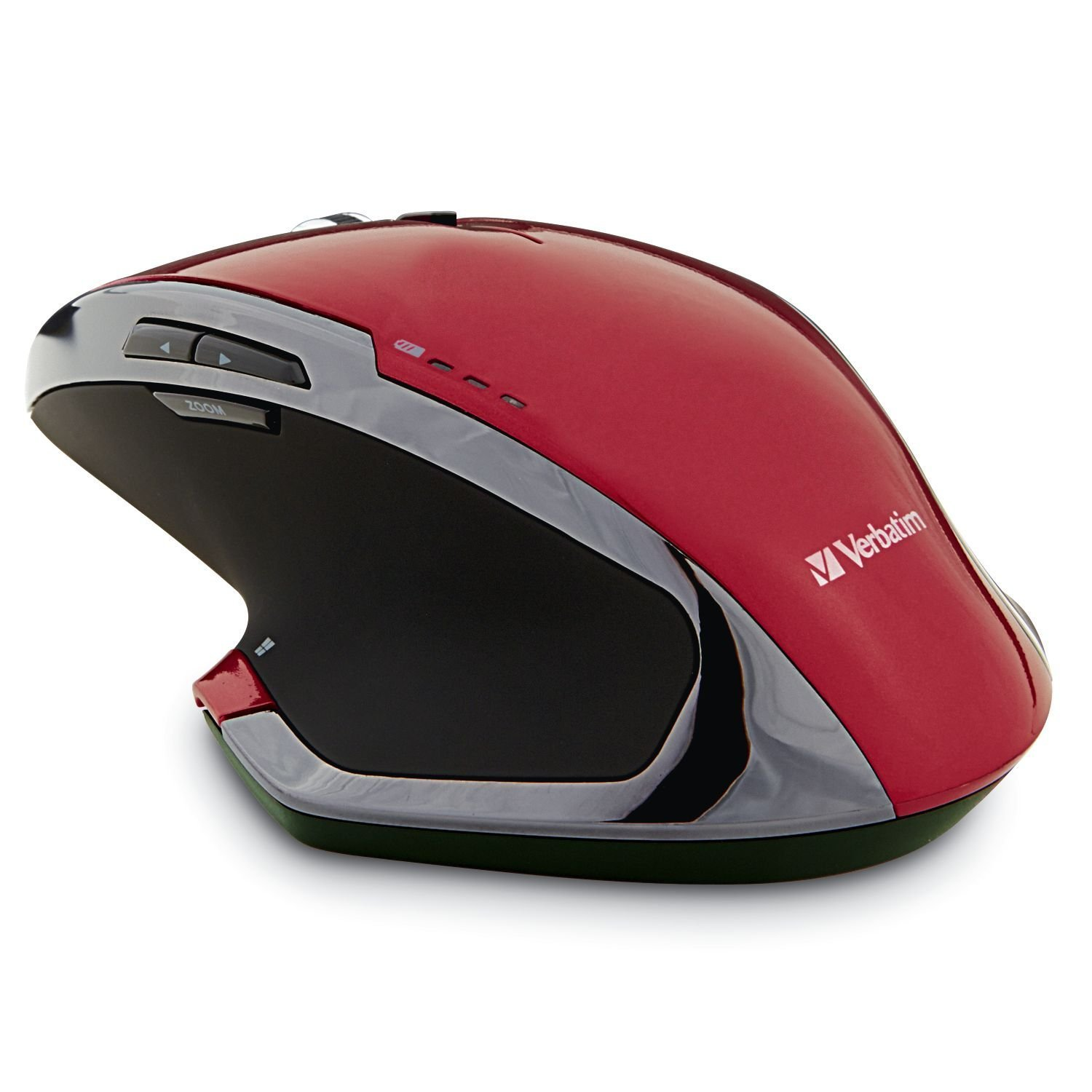 Mouse Wireless, Red 8-button Gaming Portable Led Usb Wireless Mouse