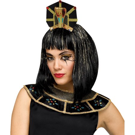 Snake Head Piece (Deluxe Egyptian Queen Snake Headpiece Headband Cleopatra Costume Accessory)
