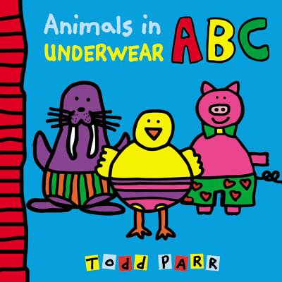 Animals in Underwear ABC](Abc In Cursive)