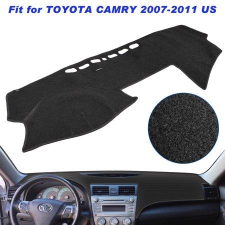 TSV Dashboard Mat Sun Cover For 2007-2011 Toyota Camry Carpet Dash Cover
