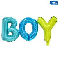KABOER BOY GIRL Foil Balloon Baby Shower Gender Reveal Birthday Party  Decoration
