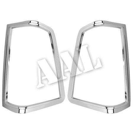 AAL Premium Chrome LIGHTS BEZEL Cover For 2004-2014 NISSAN 2004-2014 NISSAN TITAN TAIL LIGHT S ()