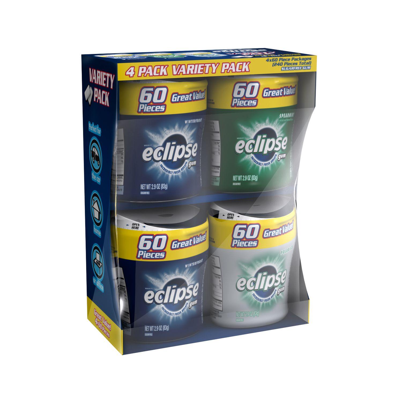 Eclipse Bottle Variety Pack, Gum 4 CT