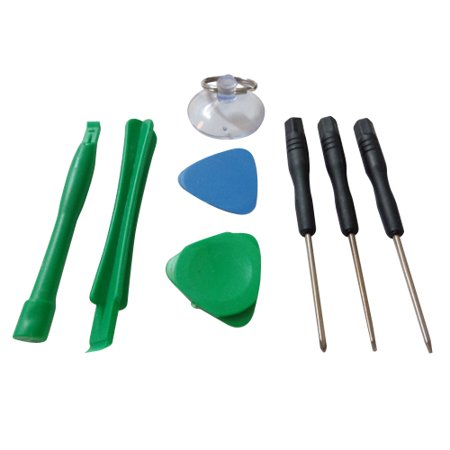 8pc Tool Kit for Laptop Tablet Cell Phone Digitizer Repair - Universal ()