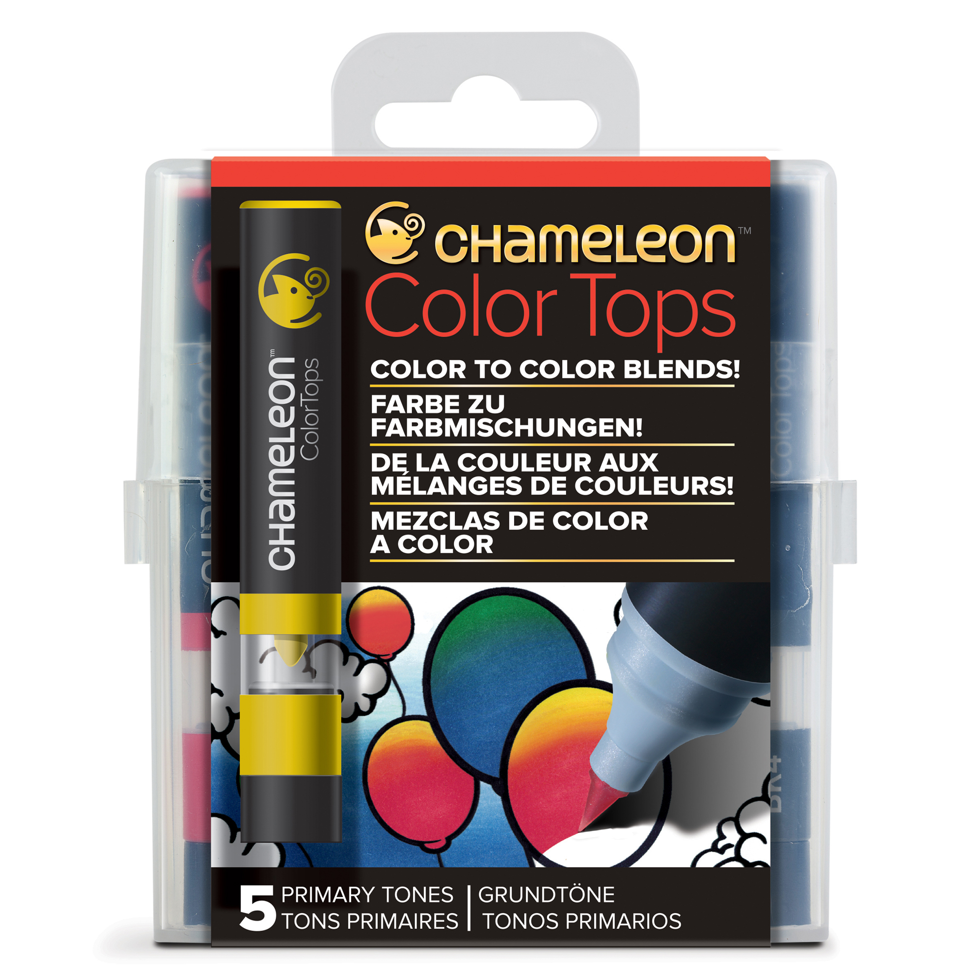 ​Chameleon Color Top Set Of 5 Collection