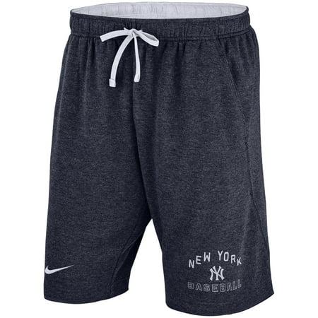 New York Yankees Nike Flux Lounge Shorts - Heathered Navy - Nike Mlb Shorts
