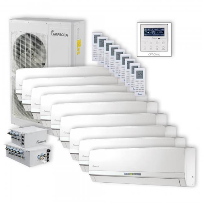 Impecca ISFW-6009X9 Flex Wall Mounted 9 Unit Combination ...