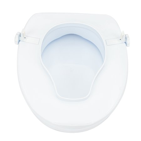 Excellent Ktaxon 4 High Raised Toilet Seat Quality Elevated Toilet Seat With Cover Handicap Toilet White Cjindustries Chair Design For Home Cjindustriesco