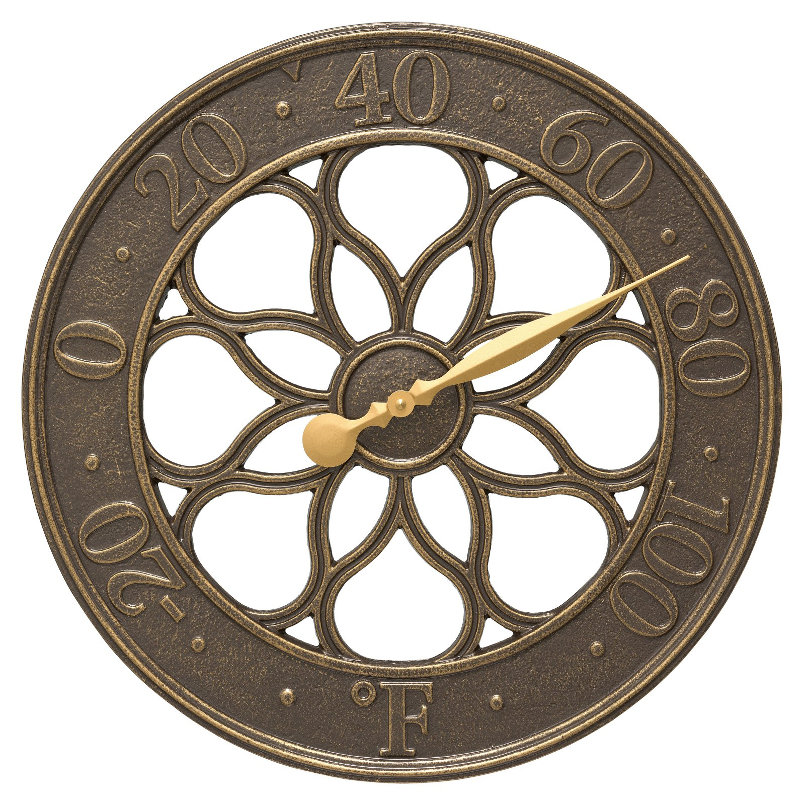 Whitehall Products Medallion 18-in. Indoor/Outdoor Wall Thermometer