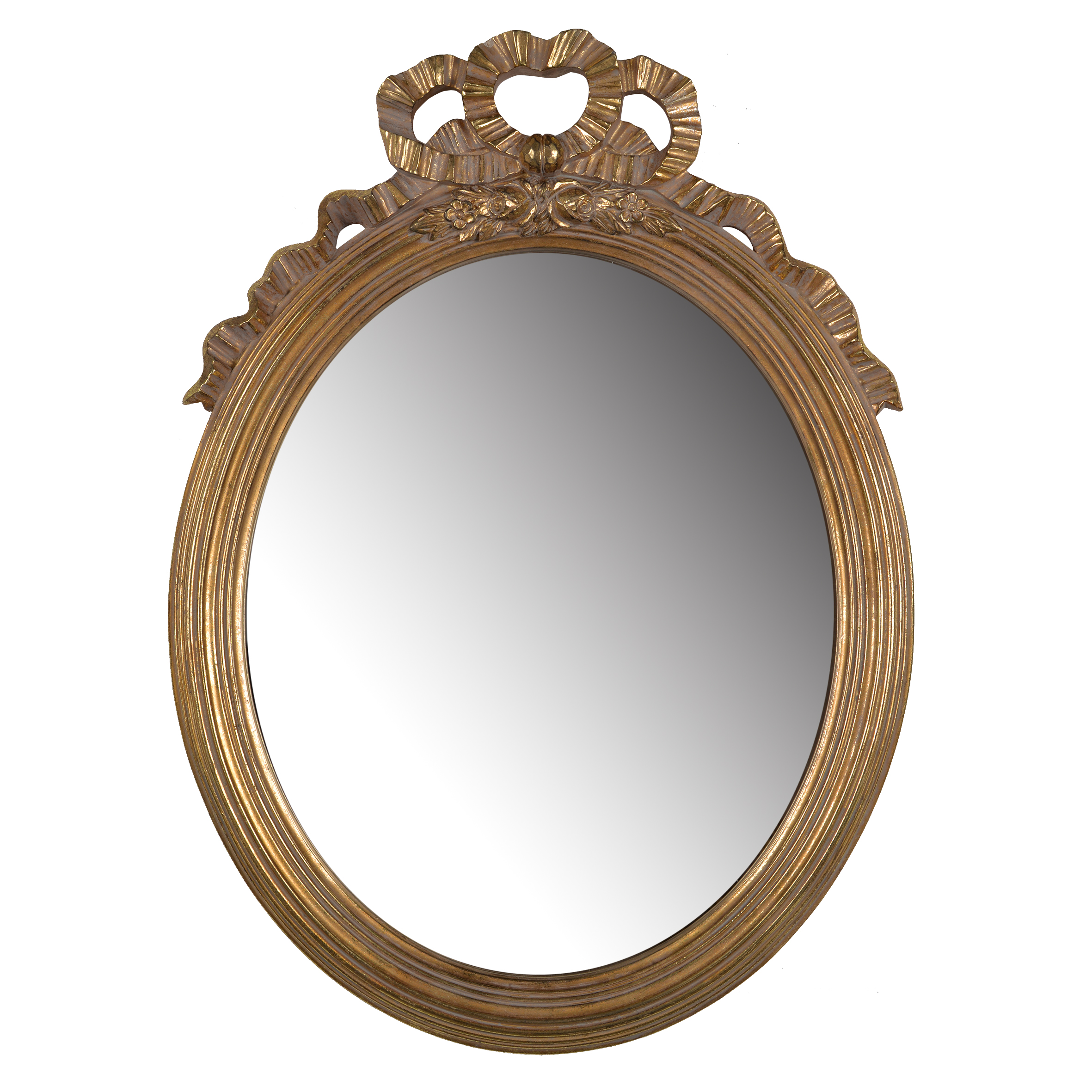A&B Home Marquis Round Mirror, Gold by A&B Home