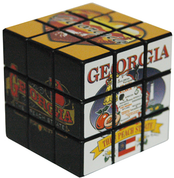 Jenkins Georgia Toy Puzzle Cube (pack Of 96)