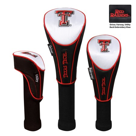 Team Effort Texas Tech Red Raiders Set of Three Golf Headcovers