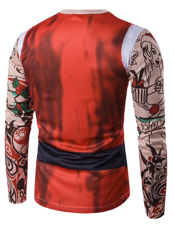 Santa Claus Suit Merry Christmas Men/'s Tee Shirt B117