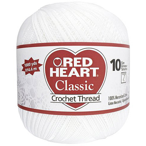 Red Heart Classic Special Value Crochet Thread, Size 10